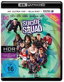 Suicide Squad inkl. Blu-ray Extended Cut (4K Ultra HD) [Blu-ray]