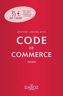 Code de commerce annoté : Edition limitée