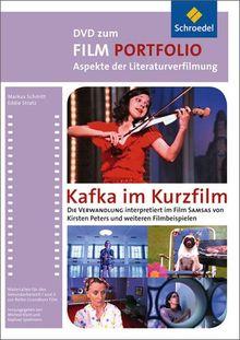 """Film Portfolio : Kafka im Kurzfilm, DVD-ROM Die Verwandlung interpretiert im Film """"Samas"""" von Kirsten Peters und weiteren Filmbeispielen. Für Windows XP/Vista/7 bzw. Mac ab OS X"""