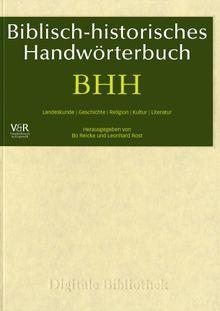 Digitale Bibliothek 096: BHH Biblisch-Historisches Handwörterbuch (PC+MAC)
