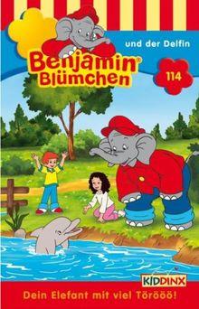 Benjamin Blümchen 114 und der Delfin [Musikkassette]