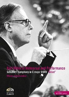 Karl Böhm in Rehearsal and Performance (NTSC)