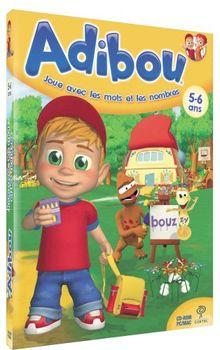 Adibou joue avec les mots et les nombres 5-6 ans