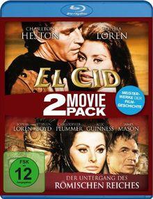 El Cid/Der Untergang des römischen Reiches - 2 Movie Pack [Blu-ray]