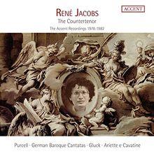 René Jacobs - The Contertenor - Der Countertenor Die ACCENT-Aufnahmen 1978-1982