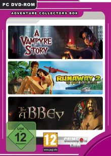 Adventure Collectors Box (A Vampyre Story, Runaway 2: The Dream of the Turtle, The Abbey)