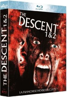 The descent ; the descent 2 [Blu-ray] [FR Import]
