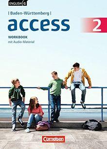 English G Access - Baden-Württemberg / Band 2: 6. Schuljahr - Workbook mit Audio-CD
