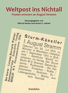 Weltpost ins Nichtall.: Poeten erinnern an August Stramm