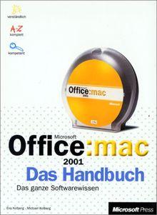 Microsoft Office 2001 Macintosh Edition, Das Handbuch