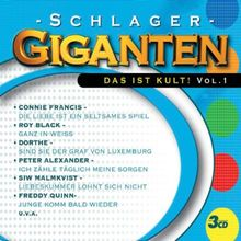 Schlager Giganten-das Ist Kult Vol.1