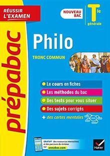 Philosophie Tle générale - Prépabac Réussir l'examen: nouveau programme, nouveau bac (2020-2021) (Prépabac (15))