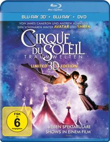 Cirque du Soleil: Traumwelten - Limited 3D Edition (+ Blu-ray + DVD) [Blu-ray 3D]