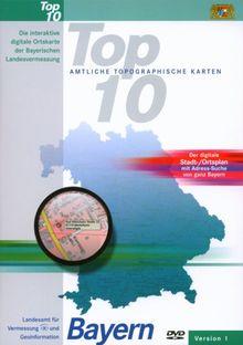 Bayern, DVD-ROMs m. Zusatz-DVD-ROMs Die interaktive digitale Ortskarte der Bayerischen Landesvermessung. Version 1. Für Windows 2000/XP. Der digitale Stadt-/Ortsplan m. Adress-Suche von ganz Bayern. 1 : 10.000