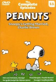 Schulz, Charles M., Tl.11 : The Complete Episodes, Snoopy's Getting Married, Charlie Brown, 1 DVD, dtsch. u. engl. Version