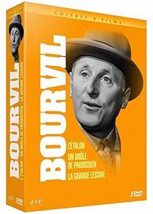 Coffret bourvil / mocky 3 films : l'étalon ; un drôle de paroissien ; la grande lessive