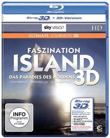 Faszination Island - Das Paradies des Nordens (SKY VISION) [3D Blu-ray + 2D Version]