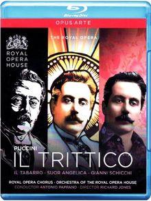 Puccini - Il Trittico [Blu-ray]
