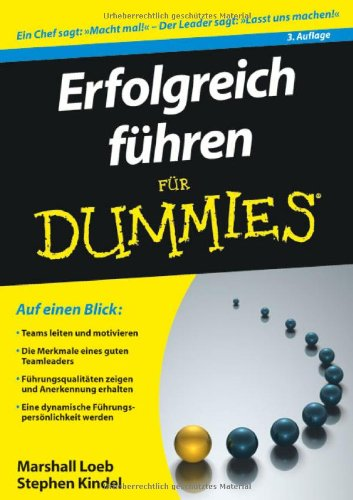 erfolgreich f hren f r dummies fur dummies von marshall loeb. Black Bedroom Furniture Sets. Home Design Ideas
