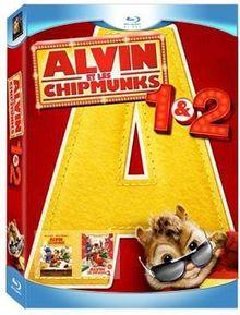 Alvin et les chipmunks ; alvin et les chipmunks 2 [Blu-ray] [FR Import]