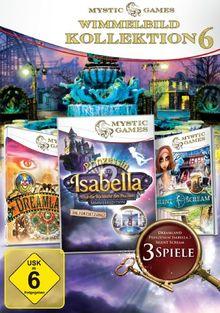 Mystic Games Kollektion 6 (Isabella 2, Dreamland, Silent Scream: Die Tänzerin)