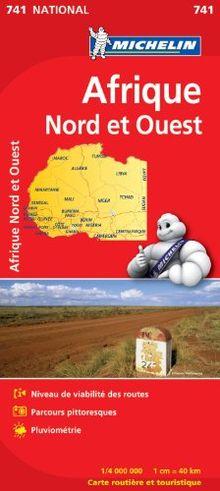 Carte Afrique Nord et Ouest Michelin