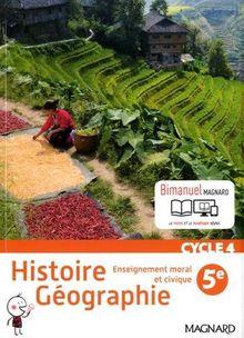 Histoire géographie, enseignement moral et civique 5e