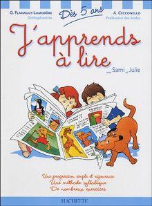 J'apprends à lire avec Sami et Julie : Dès 5 ans