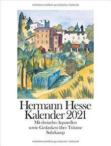 Kalender 2021: Mit dreizehn Aquarellen des Dichters sowie Gedanken und Gedichten über das Träumen: Mit dreizehn Aquarellen des Dichters sowie Gedanken und Gedichten ber das Trumen