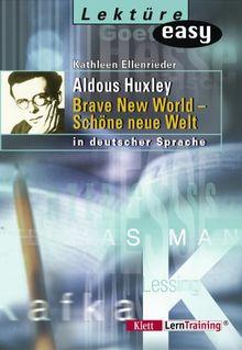 Aldous Huxley. Brave New World - Schöne neue Welt. (Lernmaterialien)