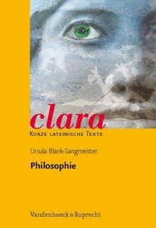 Philosophie. (Lernmaterialien) (Clara)