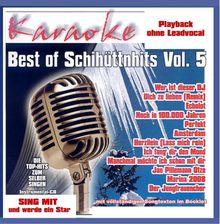 Best of Schihüttnhits Vol.5 - Karaoke