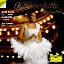 K.Battle at Carnegie Hall