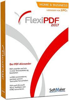 SoftMaker FlexiPDF Home & Business 2017 für Windows