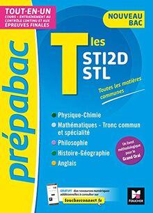 PREPABAC - Terminales STI2D/STL - Nouveau bac - Contrôle continu et épreuves finales - Révision (Prépabac (14))