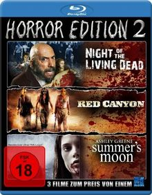 Horror Edition 2 (Night Of The Living Dead / Red Canyon / Summer's Moon) [Blu-ray] [Collector's Edition]
