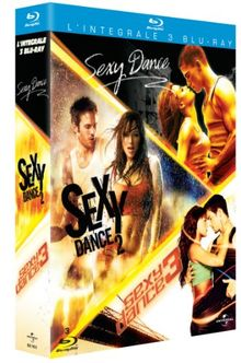 Coffret sexy dance : sexy dance 1 ; sexy dance 2 ; sexy dance 3, the battle [Blu-ray] [FR Import]