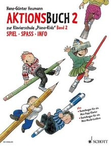 Piano Kids, Aktionsbuch Bd. 2.