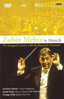 Zubin Mehta - In Munich: The Inaugural Concert with the Bayerische Staatsoper