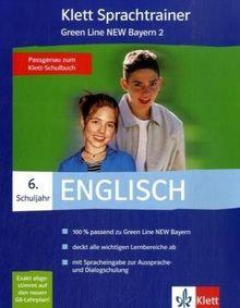 Klett Sprachtrainer. Englisch. 6. Schuljahr. Green Line New 2. Bayern. CD-ROM für Windows 98Se/ME/NT/2000