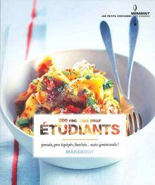 200 recettes pour étudiants