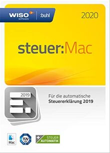 WISO steuer:Mac 2020 (für Steuerjahr 2019   Frustfreie Verpackung)