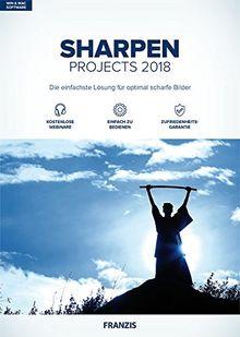 FRANZIS SHARPEN projects (2018) Software
