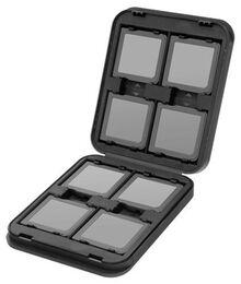 Nintendo DSi XL / DSi / DS Lite / DS - Game Case Pro 8 -black- Spielehülle