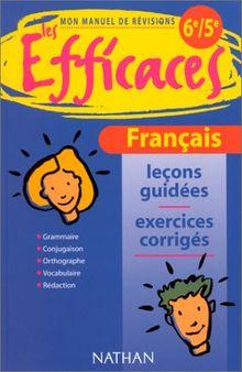 Français, 6e-5e (Efficaces Colle)