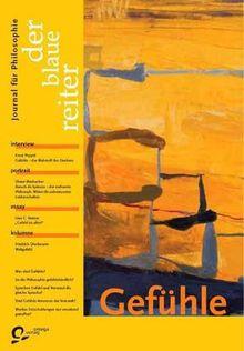 Der Blaue Reiter. Journal für Philosophie 20. Gefühle: BD 20