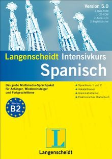Langenscheidt Intensivkurs 5.0 Spanisch. Windows 7; Vista; XP; 2000