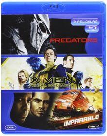 Predators + X-Men Primera Generación + Imparable (Blu-Ray) (Import) (2012) A