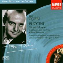 Puccini: Gianni Schicchi / Verdi: Scenes from Don Carlo & Simon Boccanegra