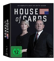 House of Cards - Staffel 1 bis 3 (exklusiv bei Amazon.de) [Blu-ray] [Limited Edition]